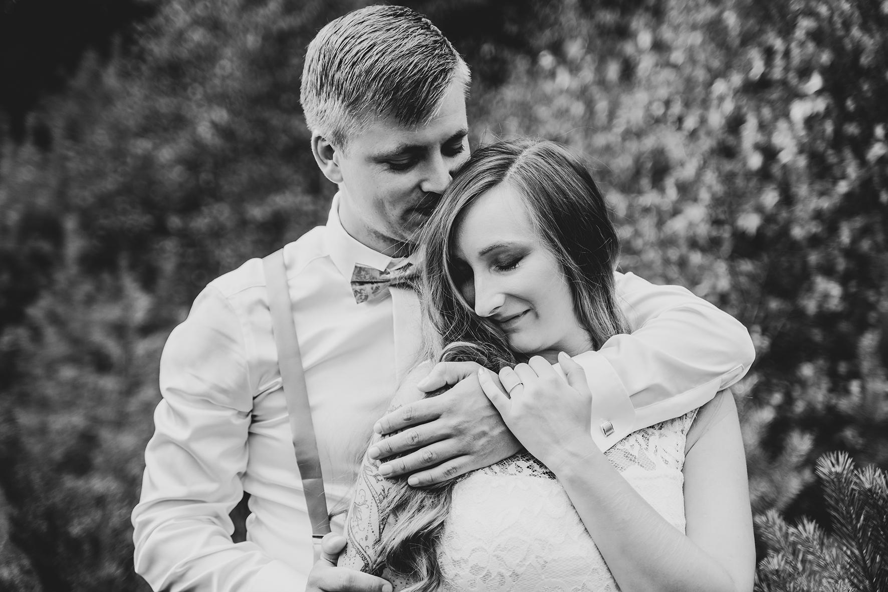 Angekuschelt Bild After Wedding Shooting in Sottrum