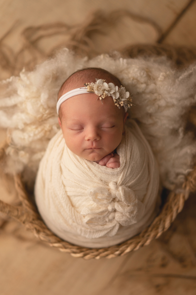 Babyfotoshooting in Bremen Neugeborenenbilder im Studio