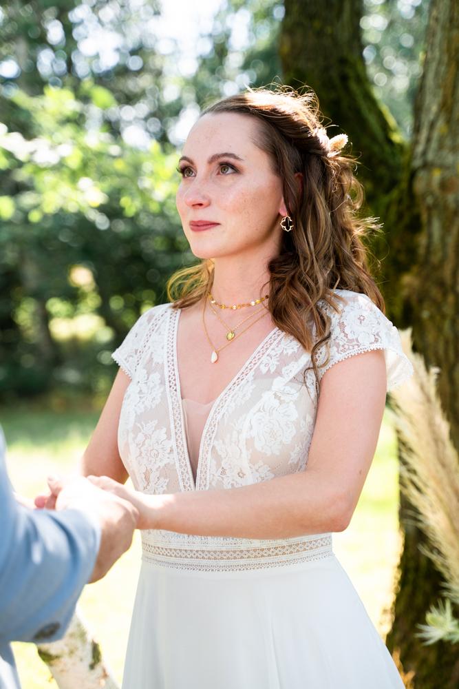 Weinende Braut Hochzeitsfotograf Bremen Hochzeitsfotos mit Emotionen