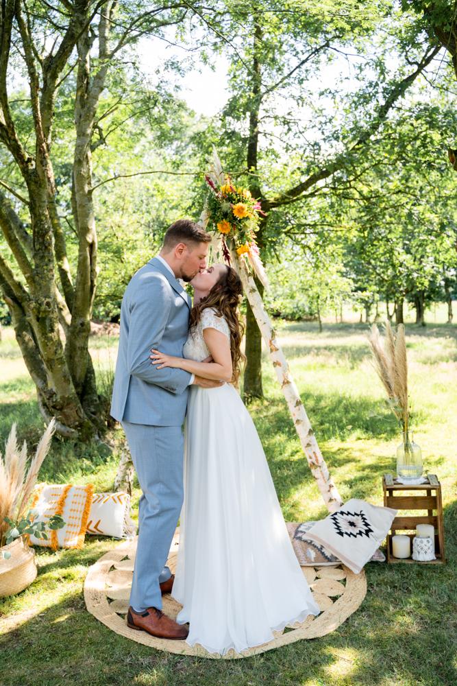 Hochzeitsfotograf Freie Trauung Bremen Hochzeitsfotos im Boho Stil