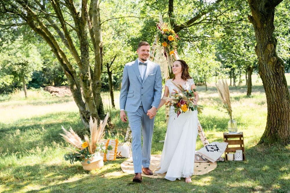 Freie Trauung Boho Hochzeit Bremen Hochzeitsfotografin