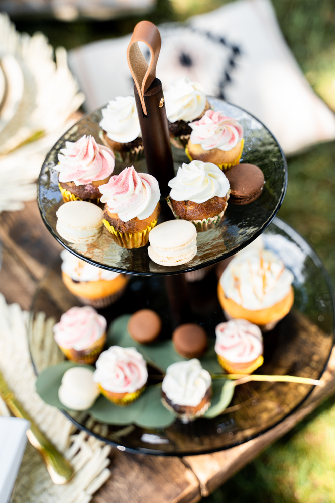 Hochzeitsfotograf Oldenburg Cup Cakes bei Boho Hochzeit Lilienthal
