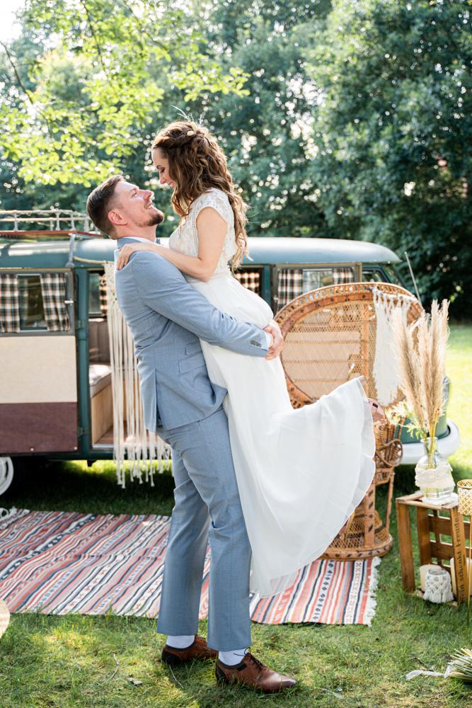 Hochzeitsfotos Bohostyle Rustikale Hochzeit Bremen