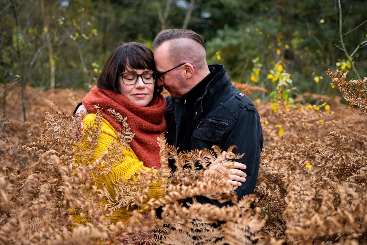 Pärchenshooting im Herbst Coupleshoot Bremen