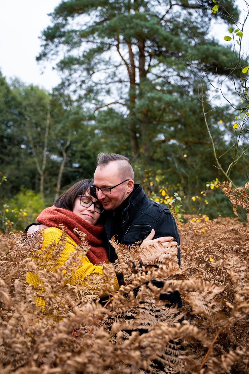 Herbstliche Pärchenfotos in Bremen Fotoshooting mit Paaren Fotografin Rotenburg Wümme