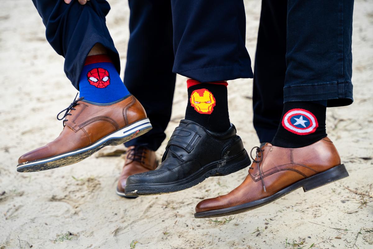 Hochzeitsfotograf Bremen Socken Best Man Trauzeugen