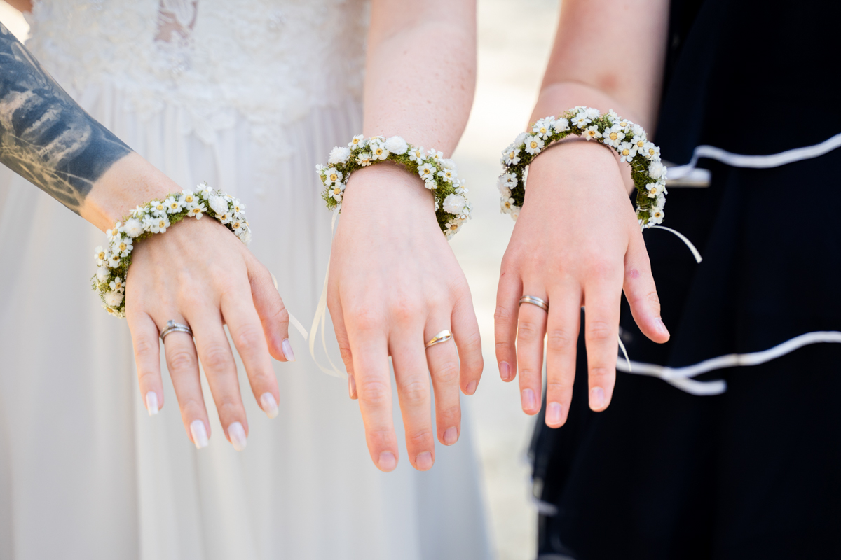 Hochzeitsfotograf Bremen Bassum Brautjungfern