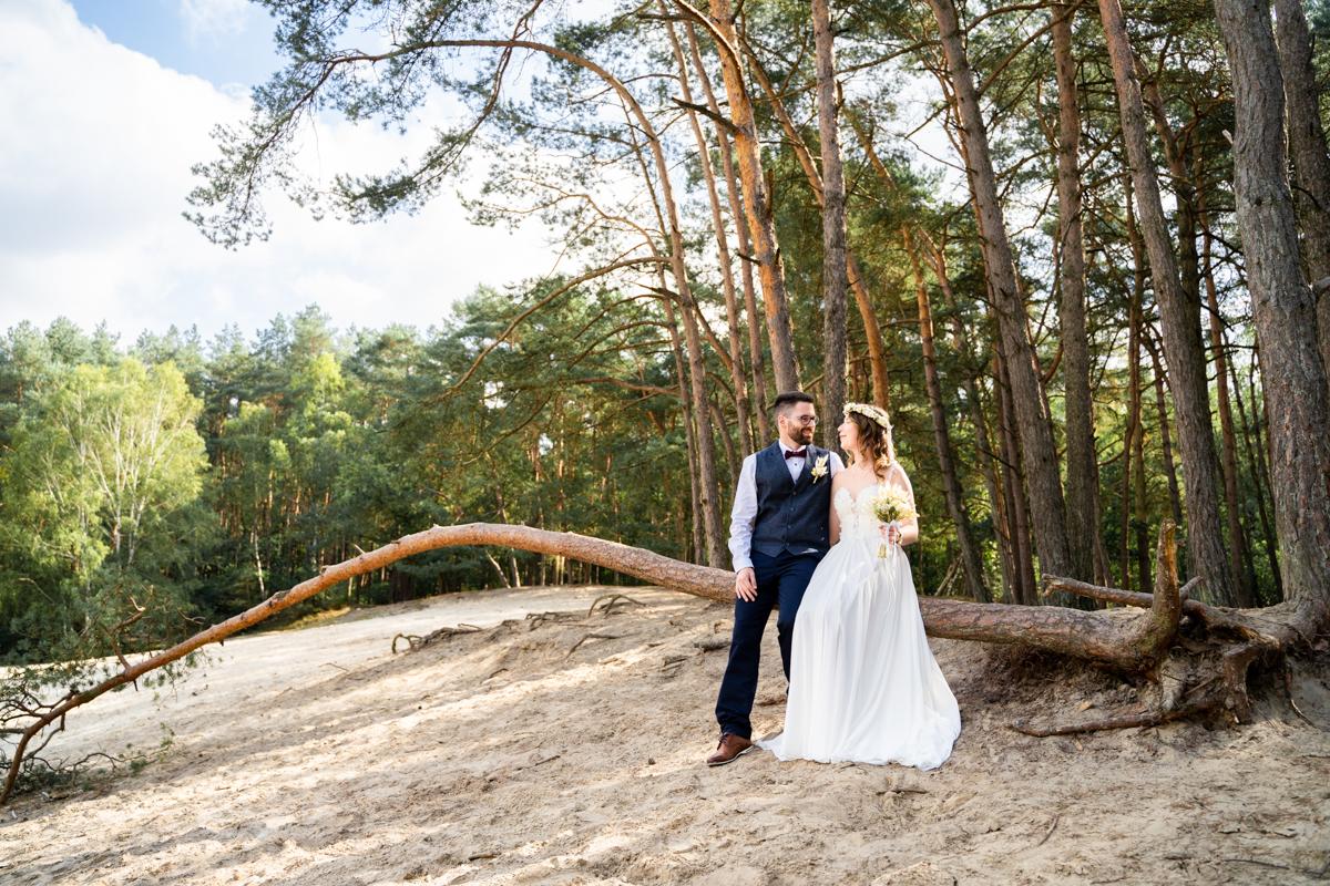 Hochzeitsfotos in den Sanddünen Hochzeitsfotograf Syke