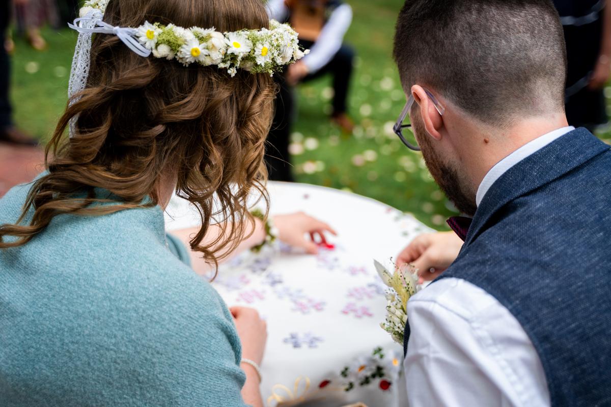 Detailbild Hochzeitspuzzle Hochzeitsfotograf bremen