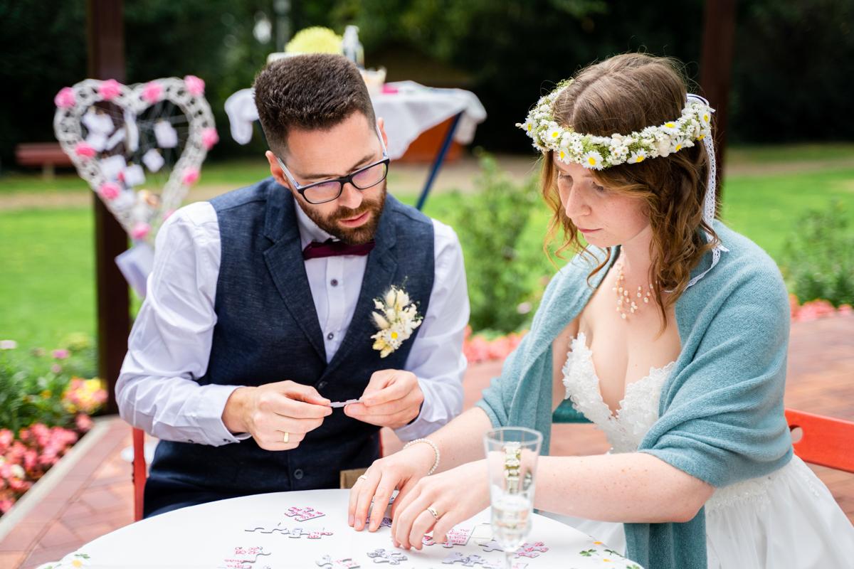 Puzzle Hochzeit Brautpaar Puzzlet das Geschenk