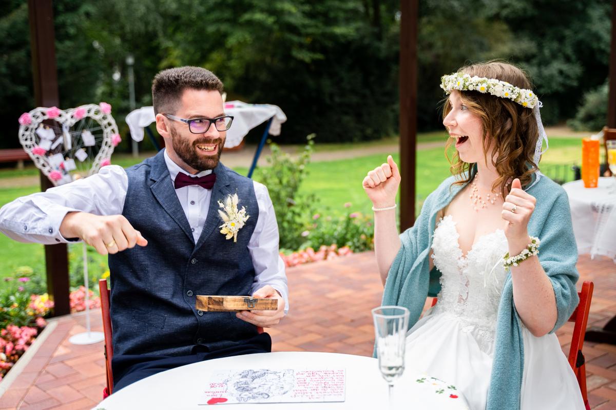 Hochzeitsfotograf Bassum Brautpaar Puzzle Freudenburg
