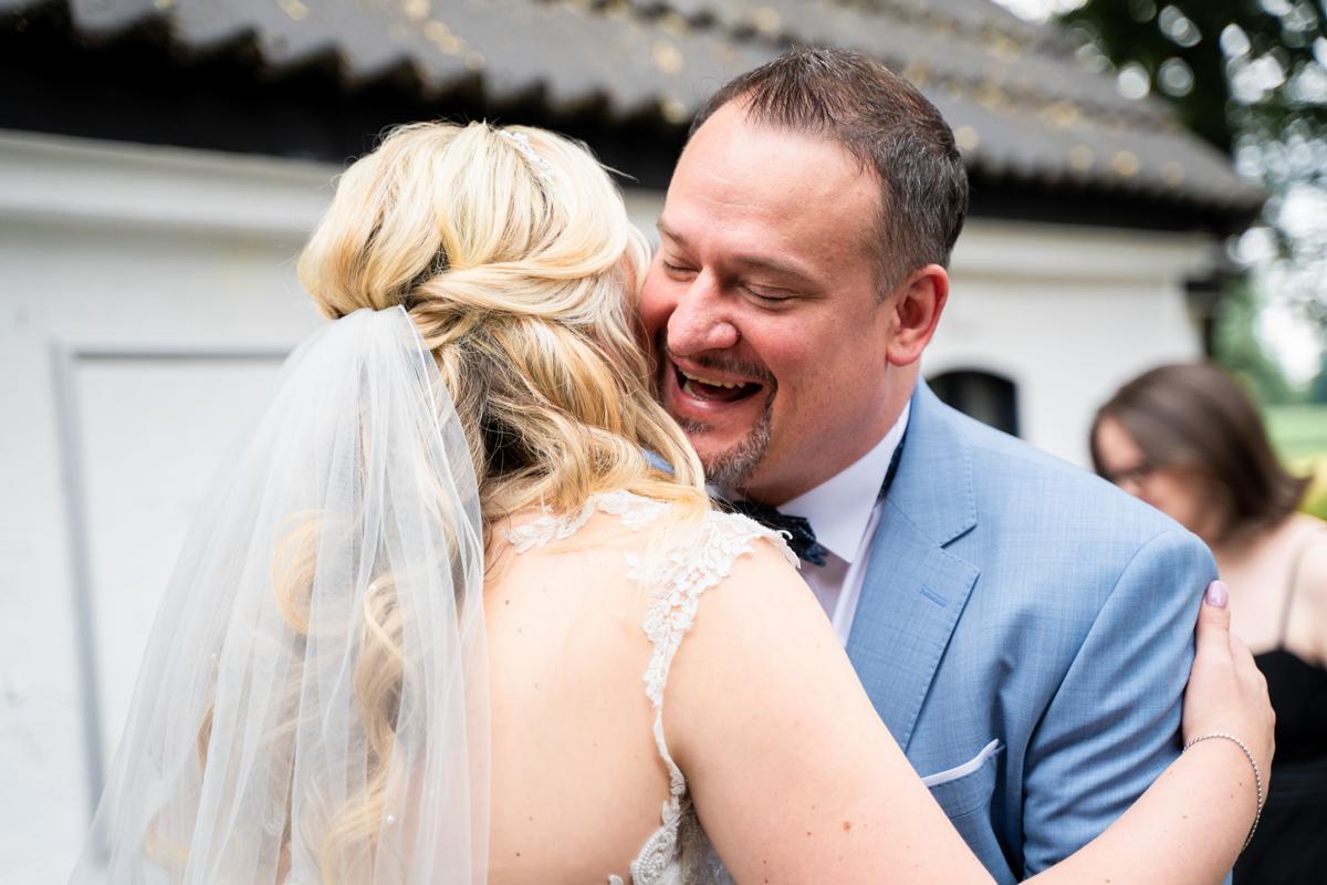 Begrüßung der Braut Hochzeitsfotograf bremen
