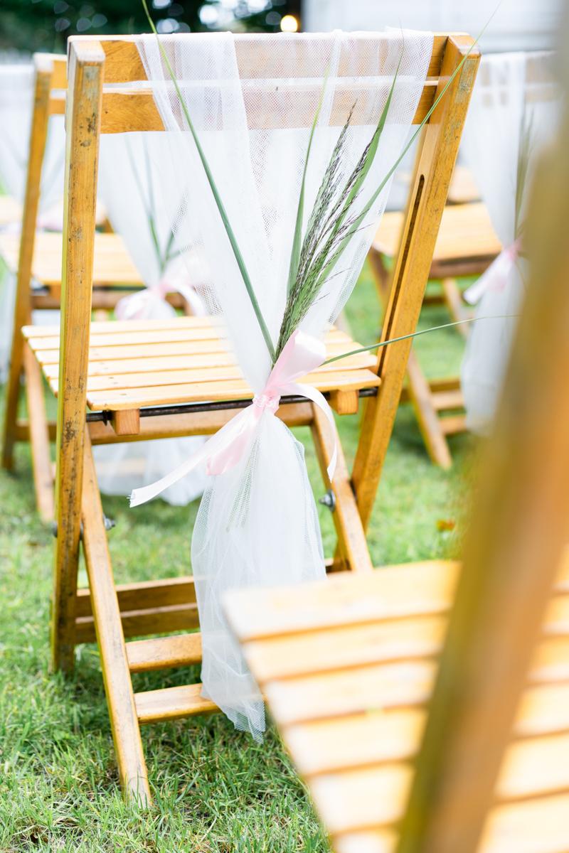 Stuhlreihen bei der freien Trauung Hochzeitsfotograf bremen