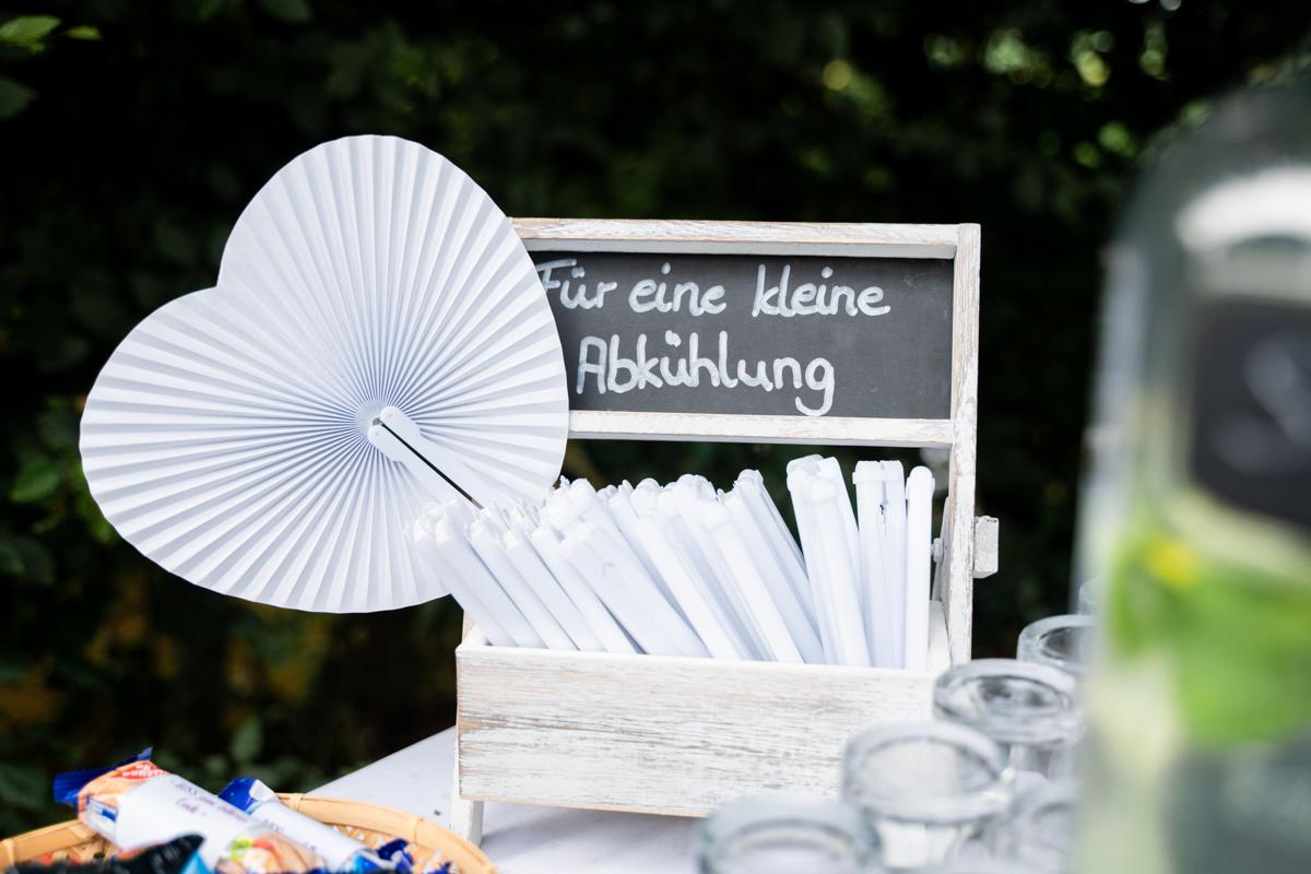 Eine kleine Abkühlung Hochzeitsfeier Bremen