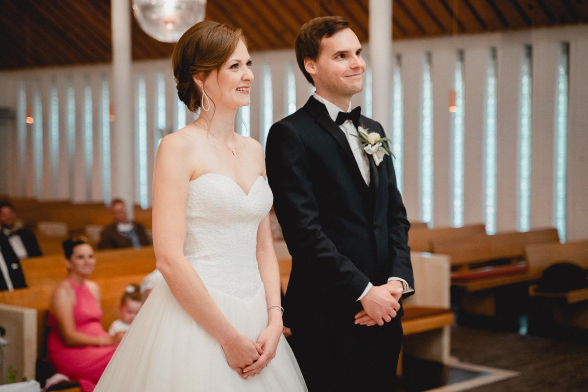 Hochzeitsfotos bei der kirchlichen Trauung in Bremen