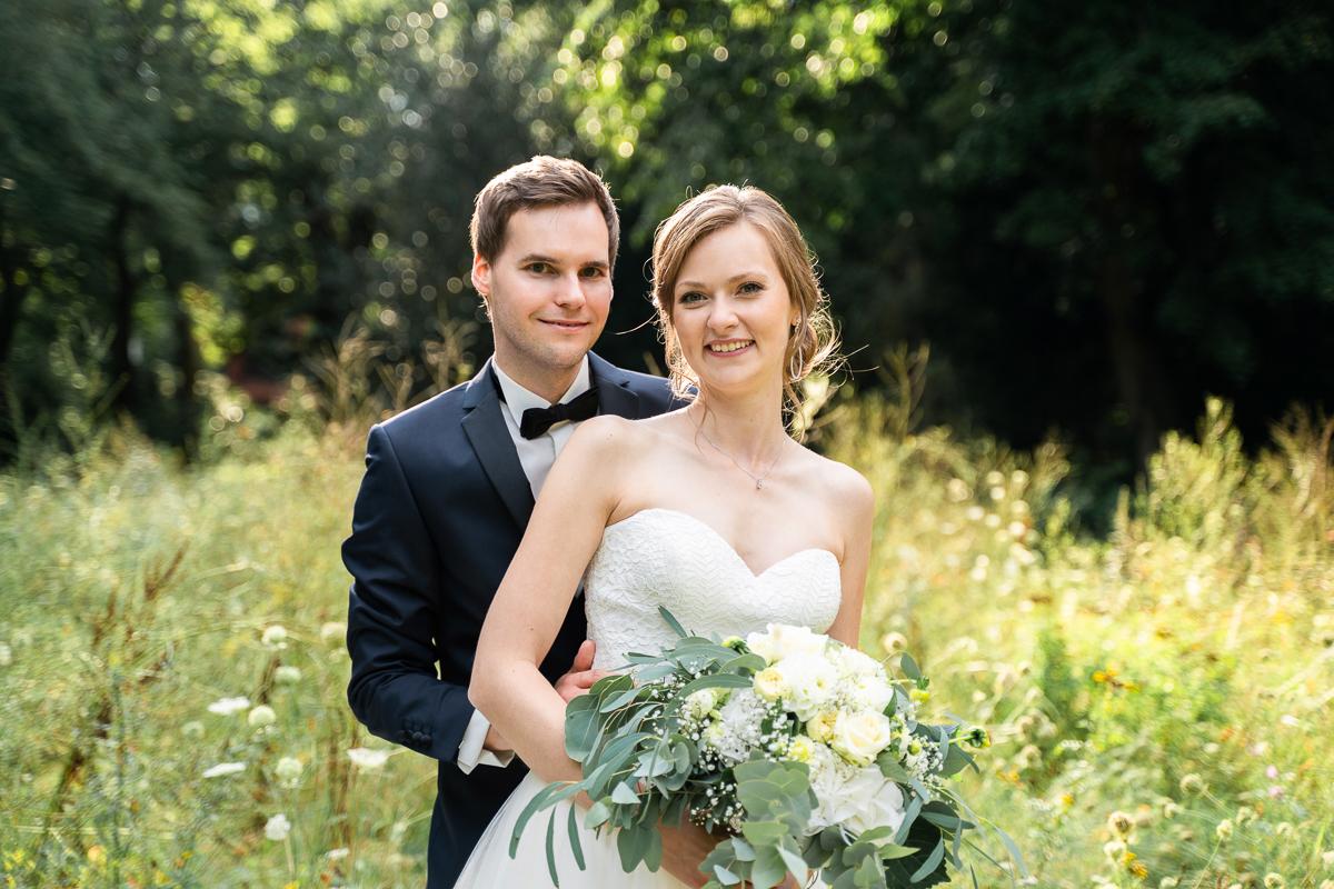Hochzeitsfotos in der Natur Hochzeitsfotograf Osterholz