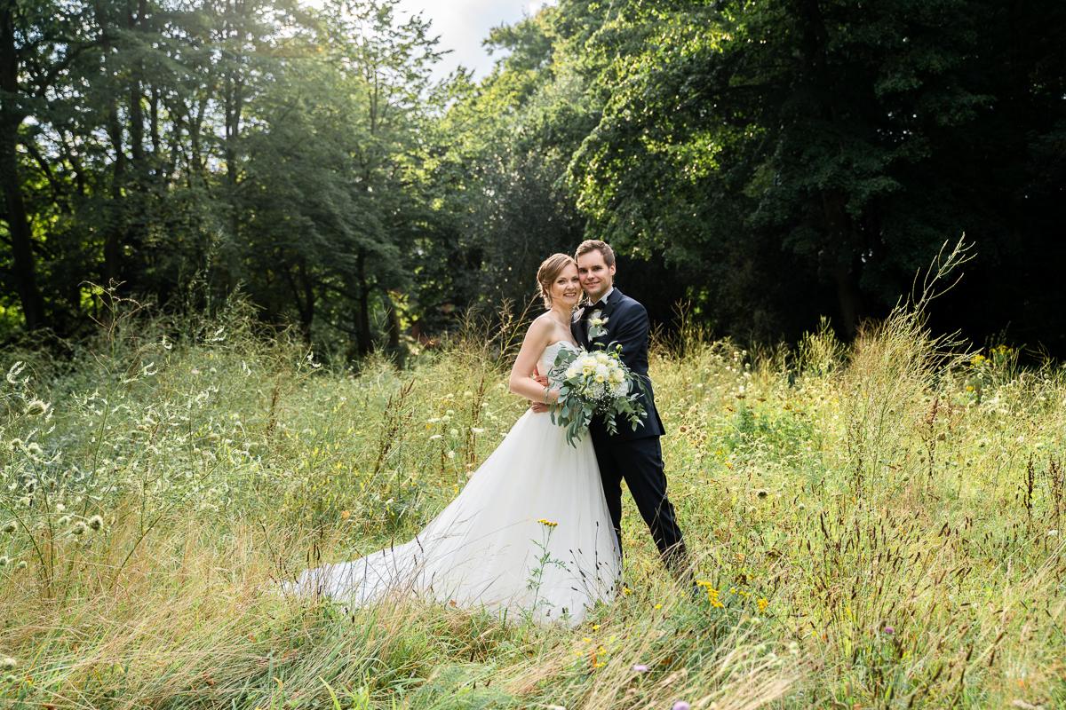 Hochzeitsfotos auf der wilden Wiese Boholocation Bremen