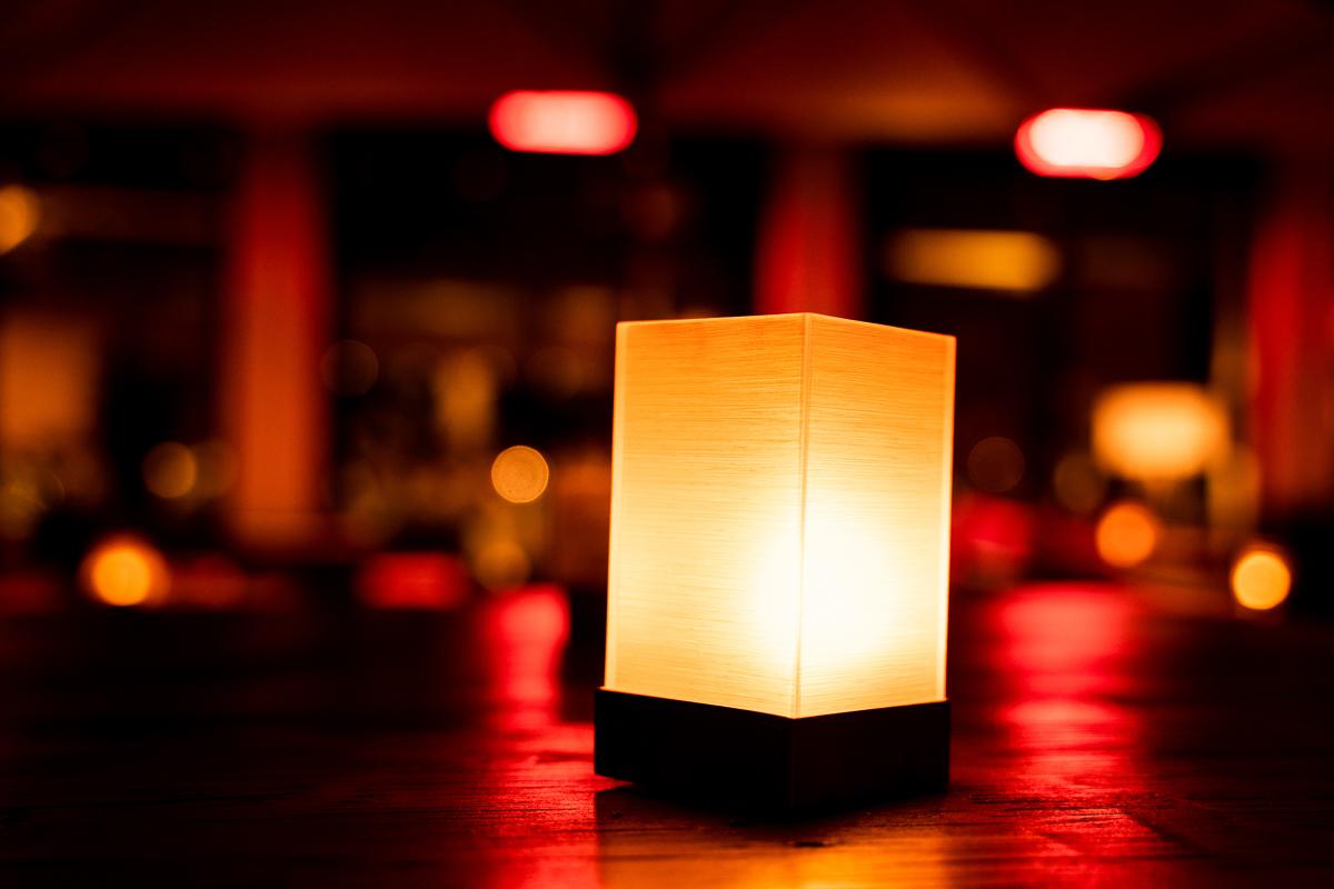Lichtstimmung im Riva Bremen Hochzeitsfeier