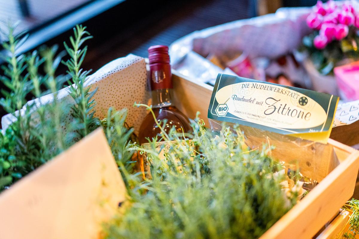 Geschenke der Gäste Hochzeitsfeier