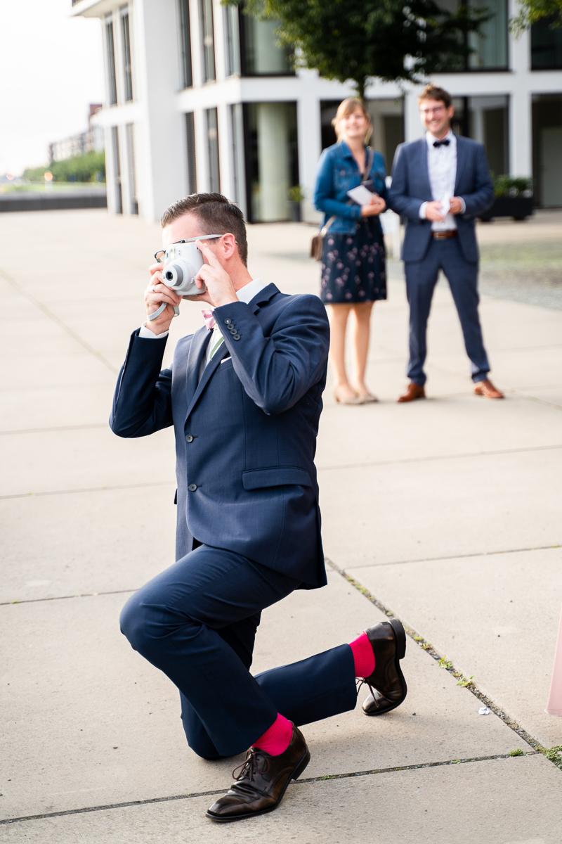 Polaroidfotos für das Gästebuch Hochzeitsfotos Bremen