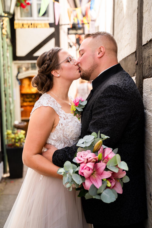 Hochzeitsfotos Bremen Urbane Fotos bei er Hochzeitsreportage