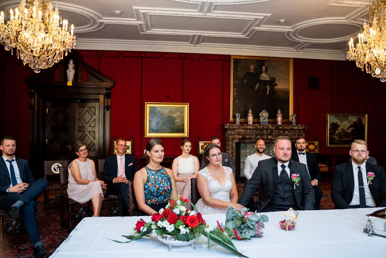 Hochzeitsreportage Bremen Heiraten im Rathaussaal
