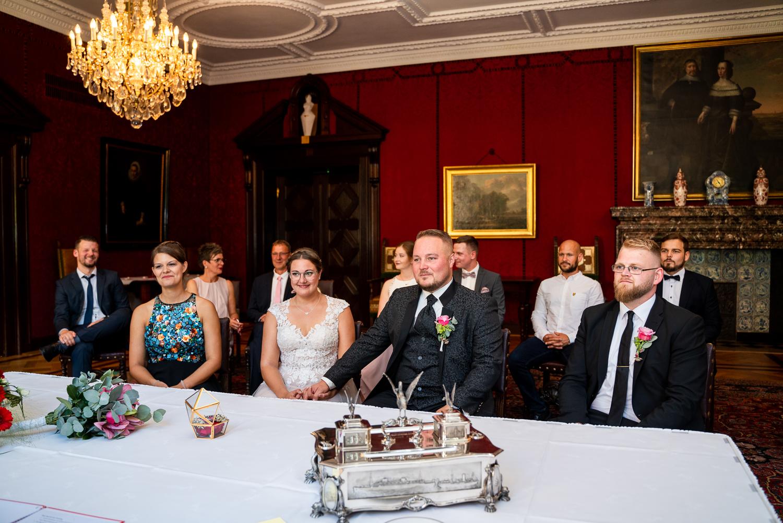 Barocker Trausaal Hochzeitsreportage im herzen Bremens