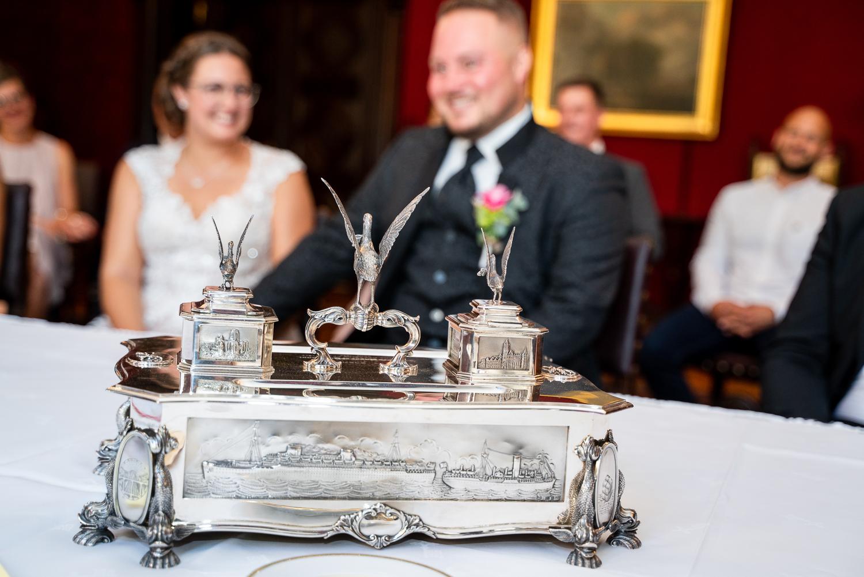 Detailfoto der Dekoration Hochzeitsfotografin bremen