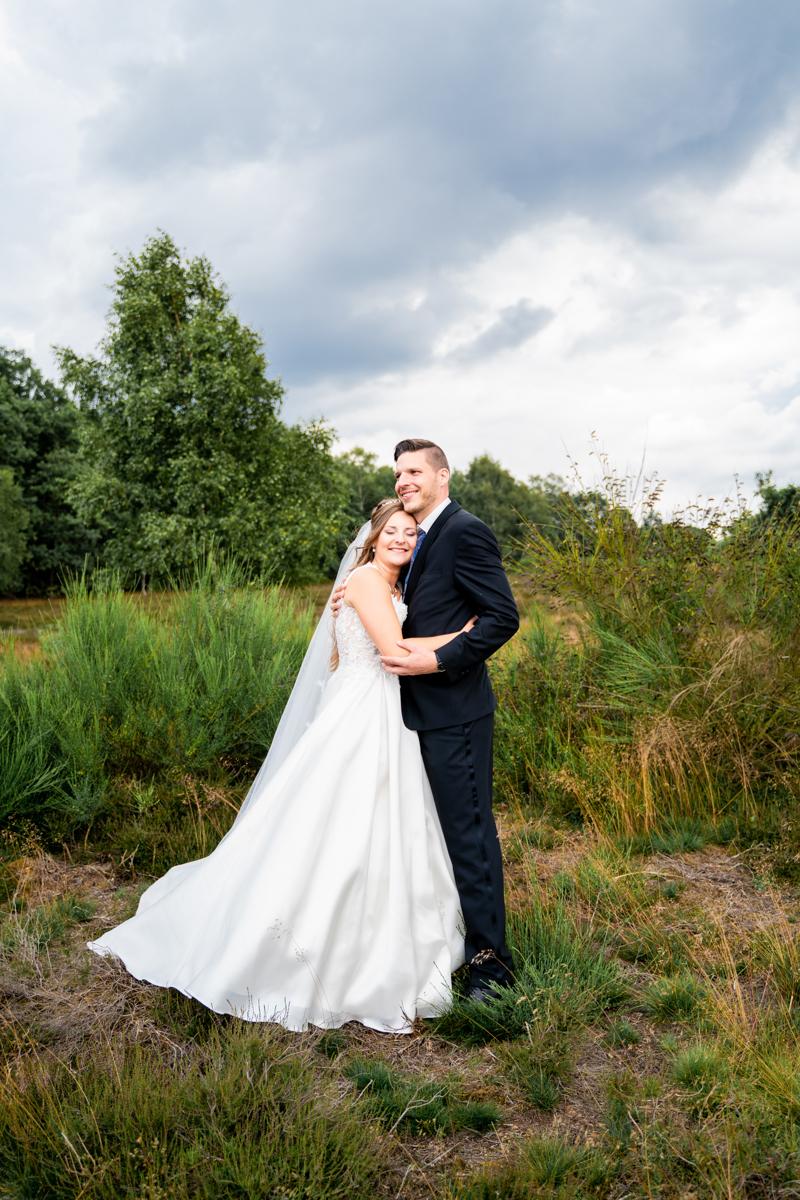 Hochzeitsfotografin Oldenburg Bremen Hochzeitsfotos Heidelandschaft