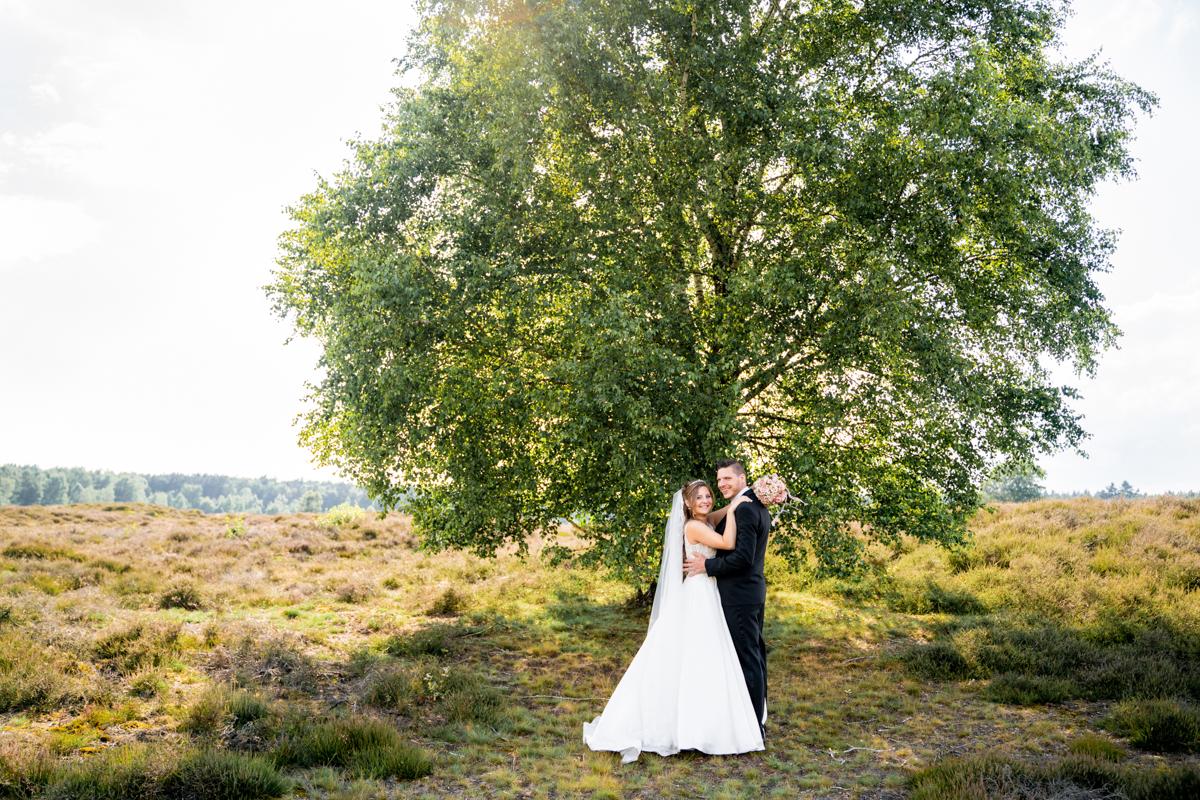 Hochzeitsfotos in Der Heide Hochzeitsfotografin Bremen Sommersonne
