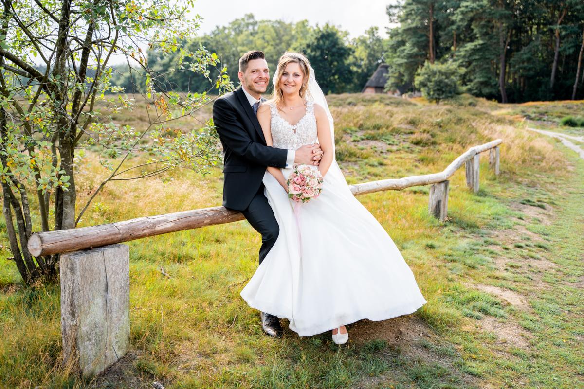 Weg durch die Heide Hochzeitsfotos in Bremen und umzu