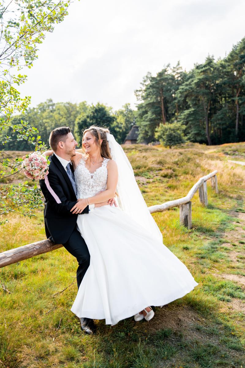 Hochzeitsfotos in der Heide Hochzeitsfotografin Bremen
