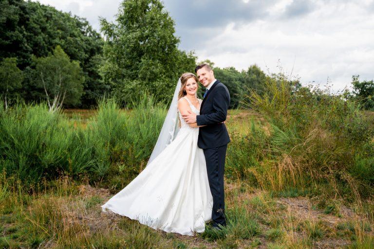 Gemeinsame Hochzeitsfotos in der Heide Hochzeitsreportage bremen