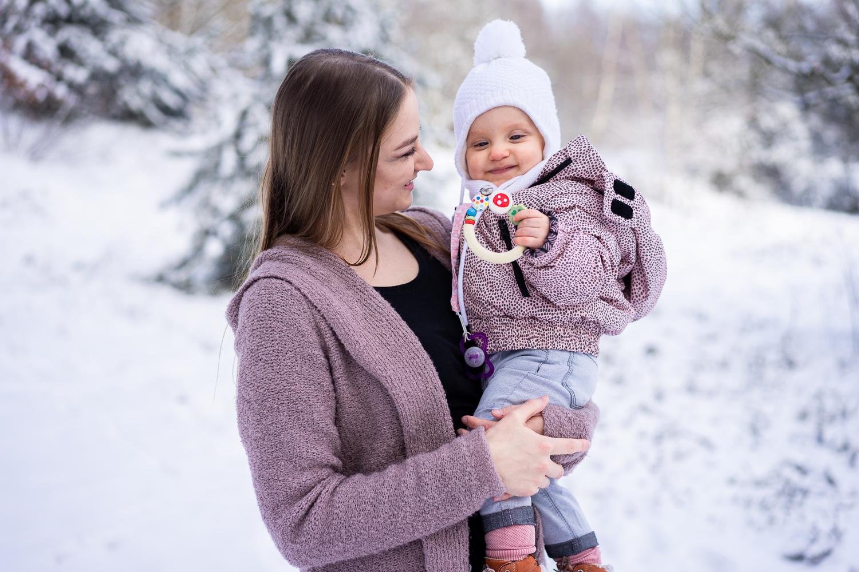 Familienfotos im Schnee Fotografin bremen