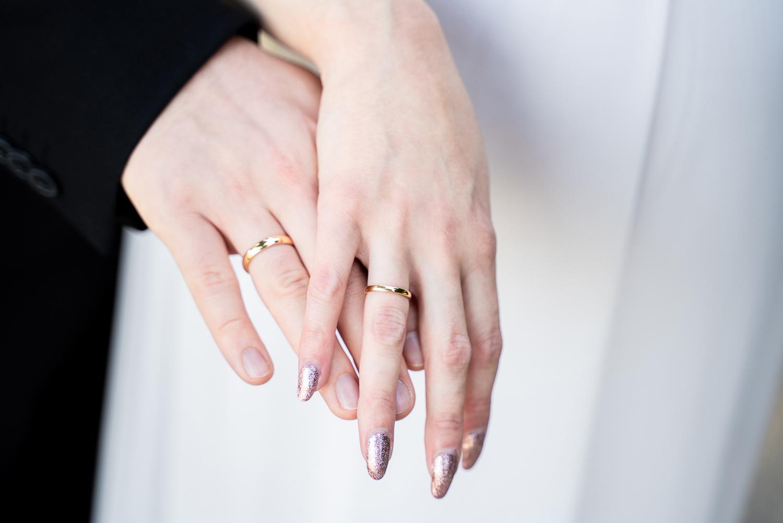 Detailbild der Ringe Hochzeitsfotografin bremen Parkhotel