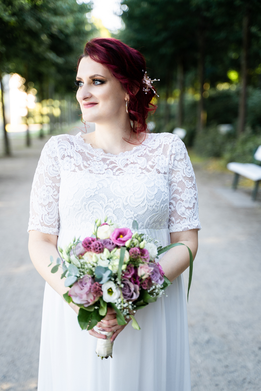 Portrait der Braut am Parkhotel Bremen Hochzeitsfotografin