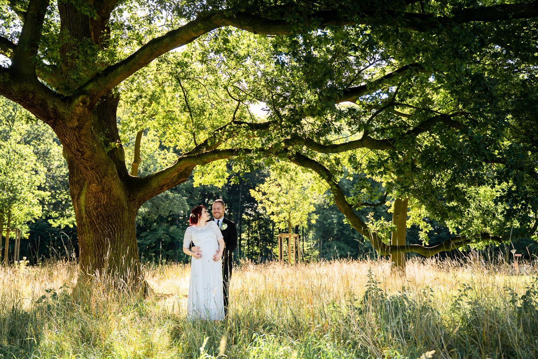 Hochzeitsfotos Park Hochzeitsfotografin bremen