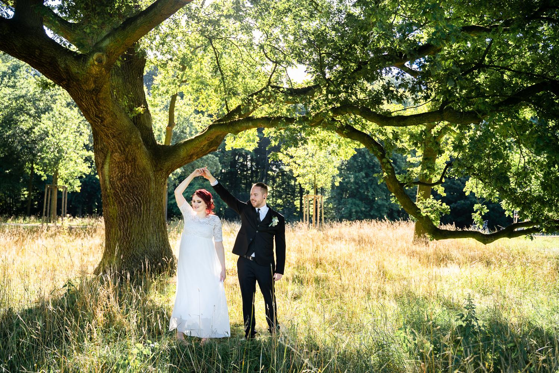 Tanz unter der alten Eiche Hochzeitsfotografin bremen