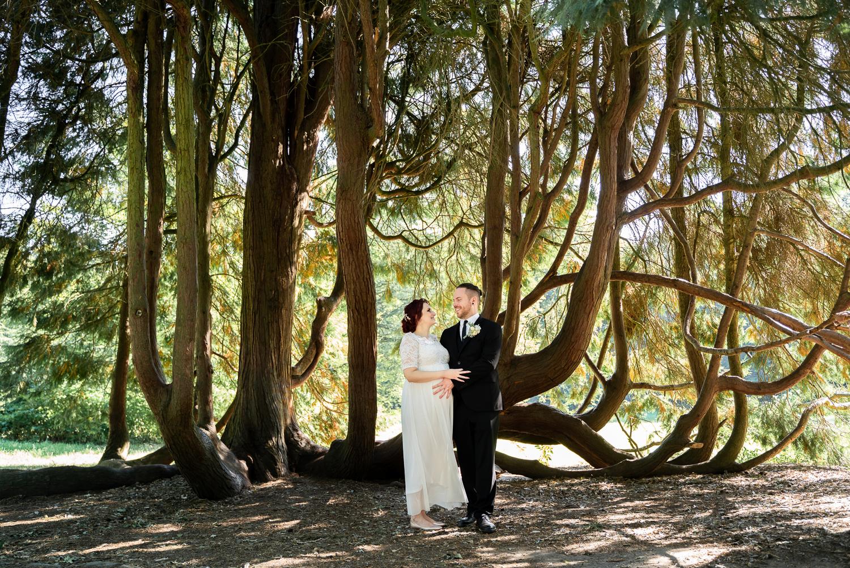 Hochzeitsfotos im Bremer Bürgerpark Hochzeitsfotografin Bremen