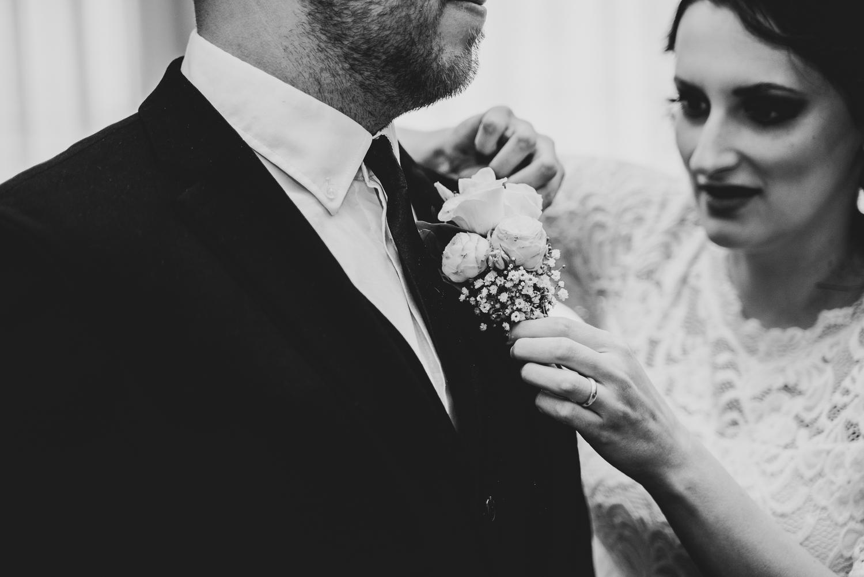 Anstecken richten Hochzeitsfotografin Bremen