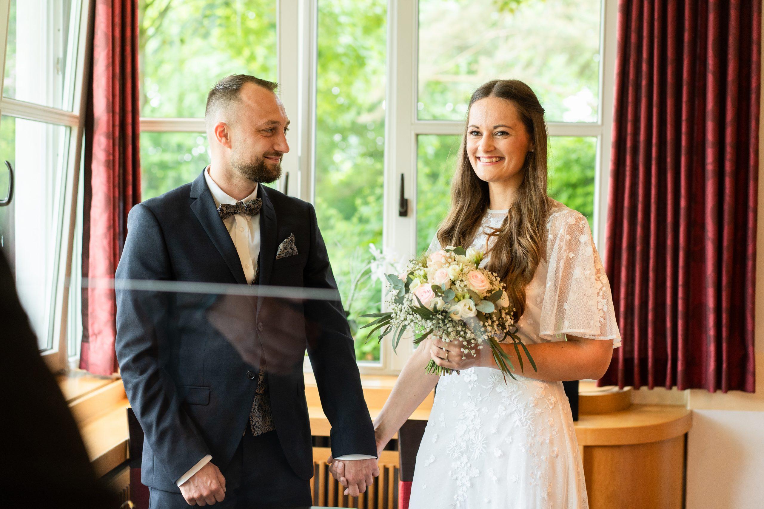 Trauung Brautpaar Weyhe Liebe Hochzeitsmomente Hochzeitstag Fotografin