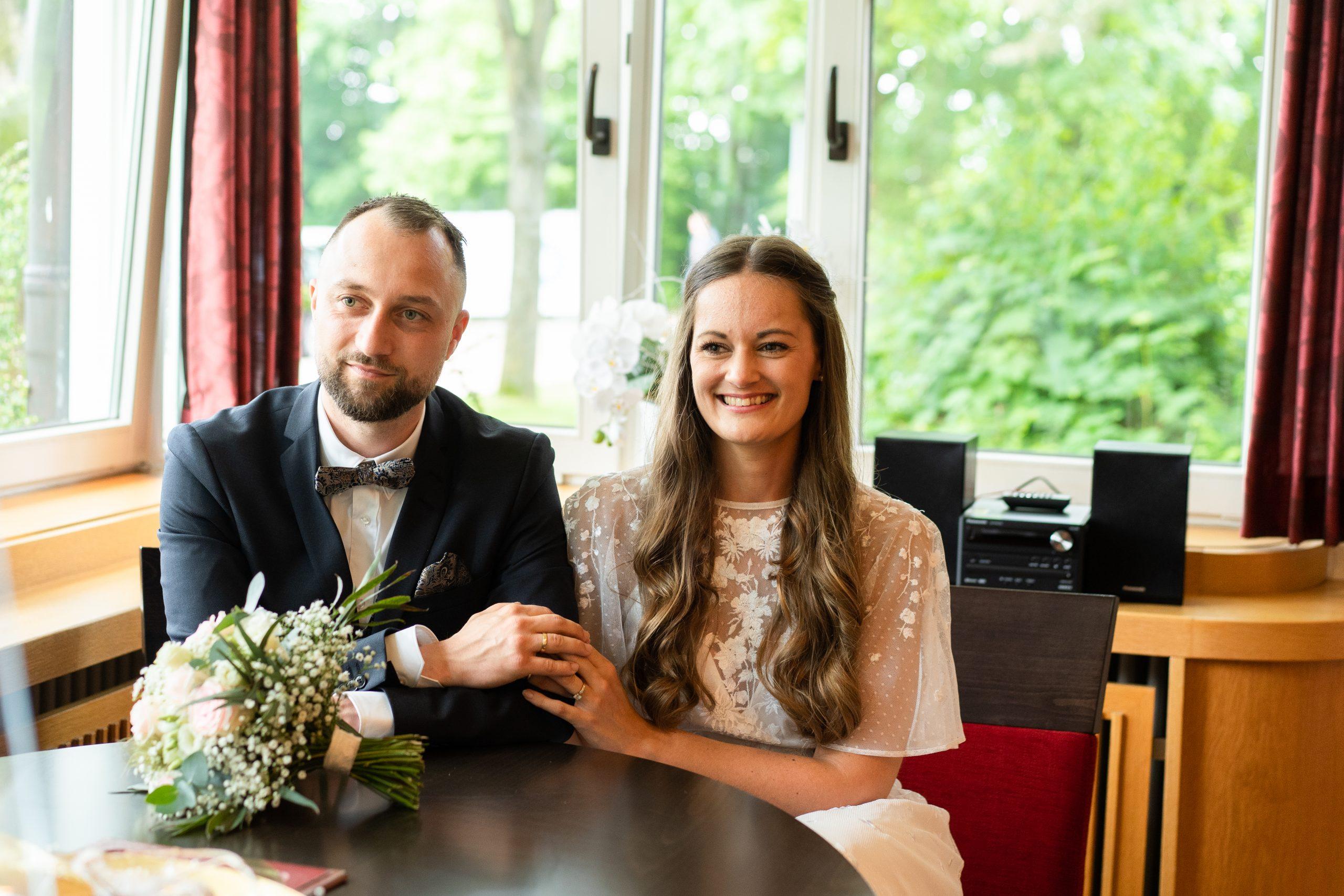 Trauung Weyhe Brautpaar Hochzeitspaar