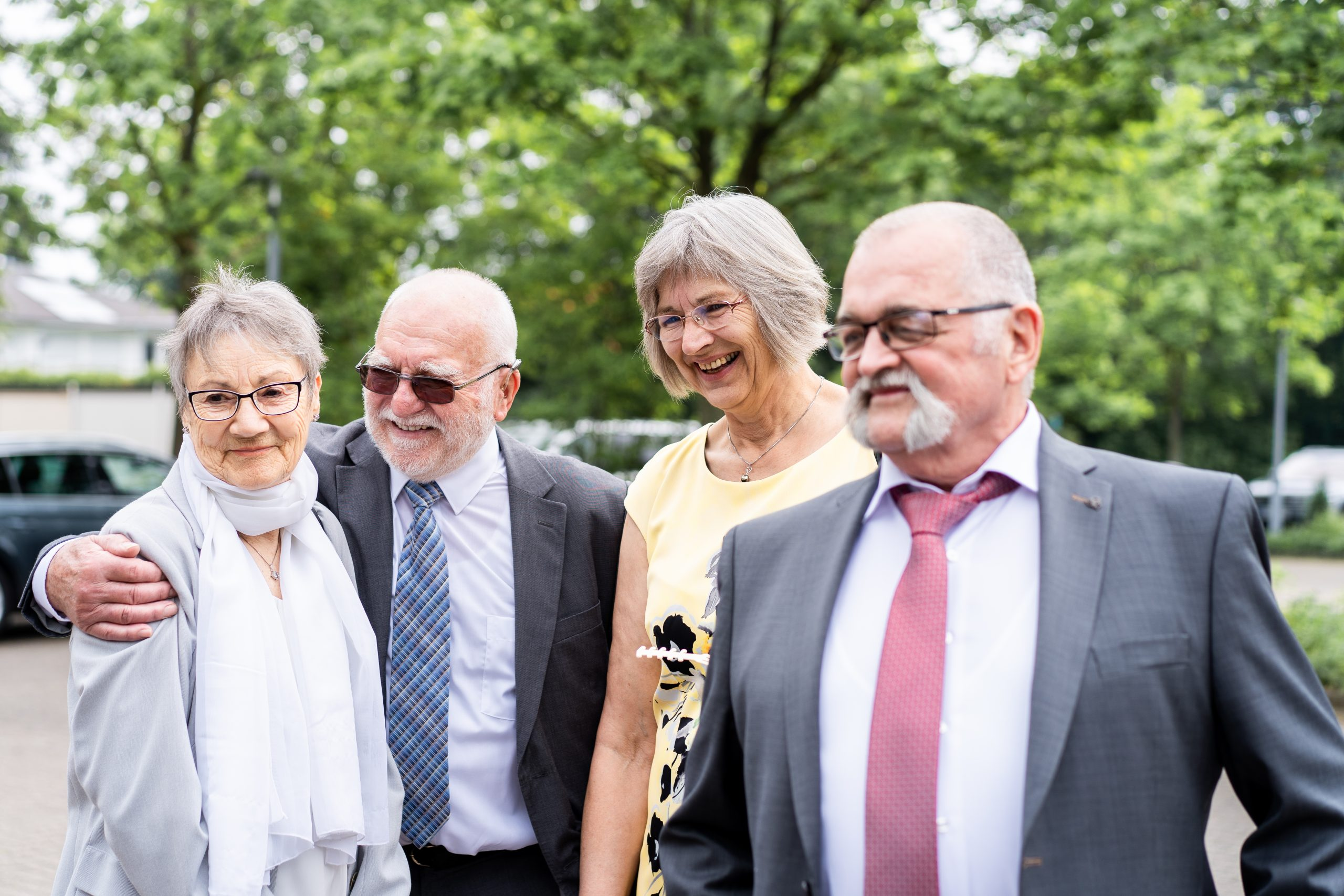 Feier Momentaufnahme Hochzeitsfotografie Hochzeitsgäste Glücklich