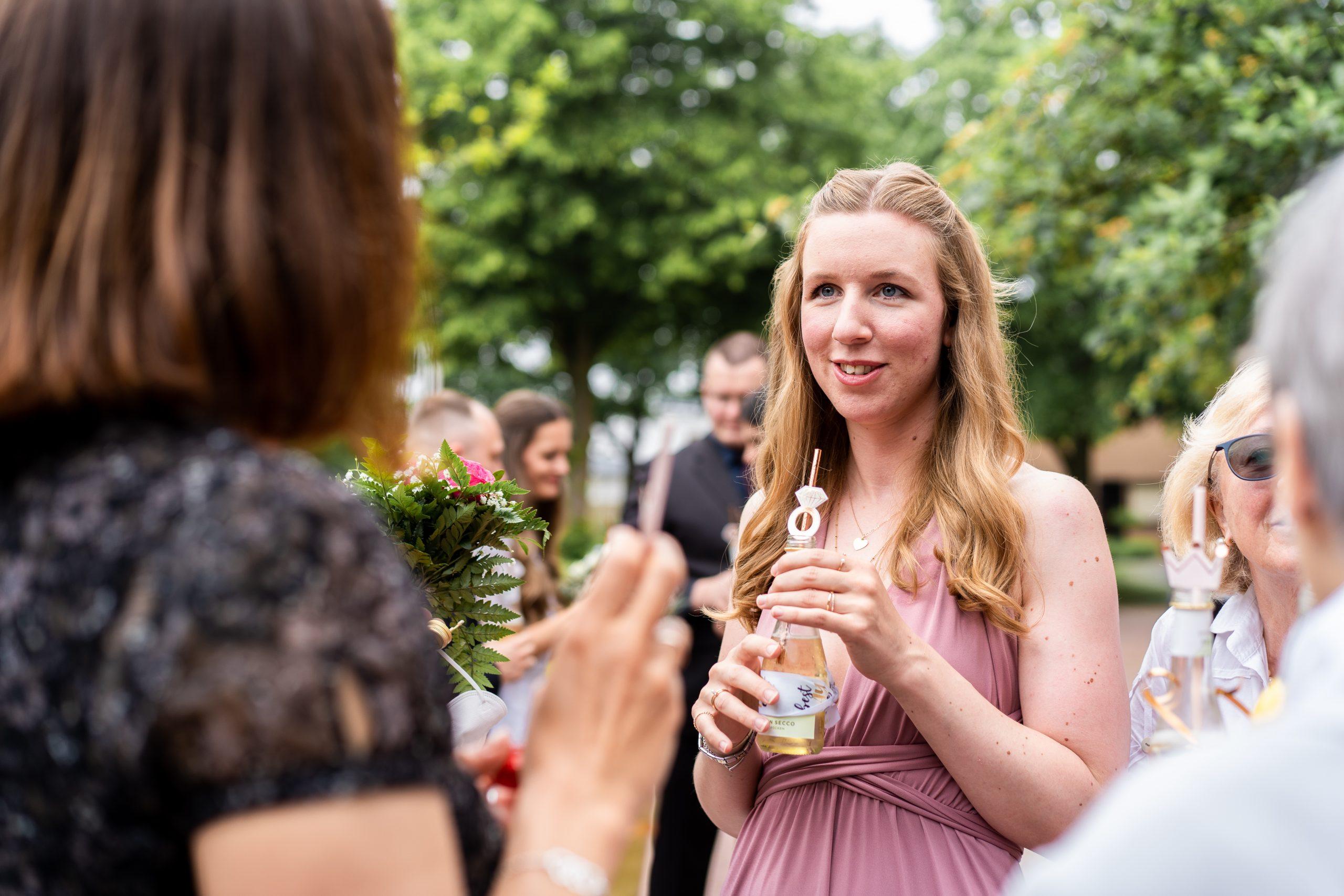 Hochzeitsgäste Empfang Hochzeitsparty Fotograf Weyhe Hochzeitsfeier