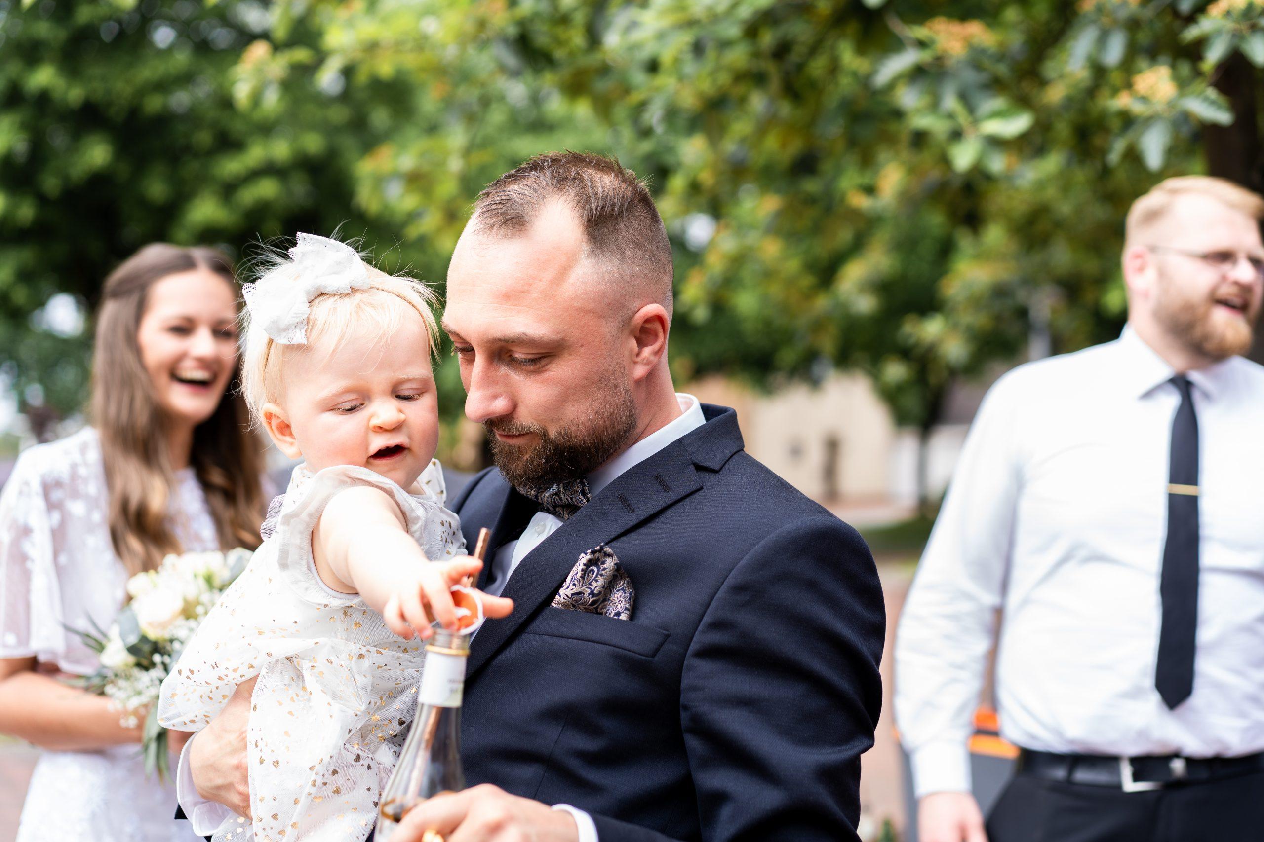 Empfang Hochzeitsempfang Familie Hochzeitsgäste Fotografie Weyhe
