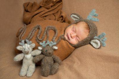 Babyshooting Rentier Neugeborenes Bremen Elysianna Lumière Photography